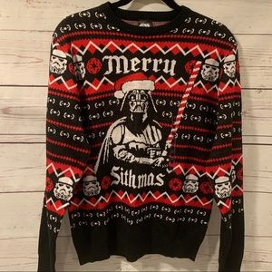 NWT- Star Wars Holiday Sweater